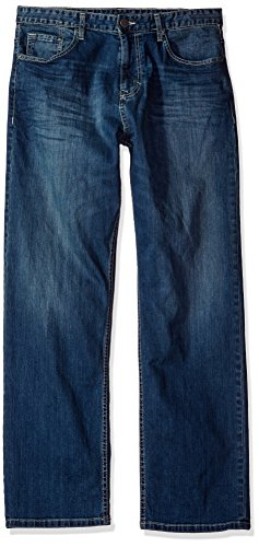 Calvin Klein Jeans Men's Relaxed Fit Jean, Authentic Blue, 35x34 -