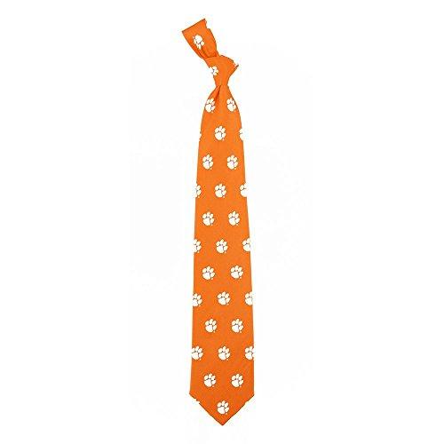 Clemson Prep Silk Necktie