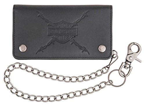 Harley Davidson Danger Genuine Leather HDMWA11215 BLK