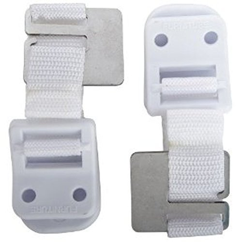 Safety 1st Furniture Wall Straps - 12 - Armoire Canvas
