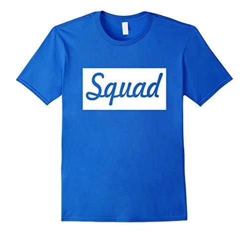 Mens Squad T-Shirt Sneaker Heads Basketball Shoes Fresh Large Royal Blue