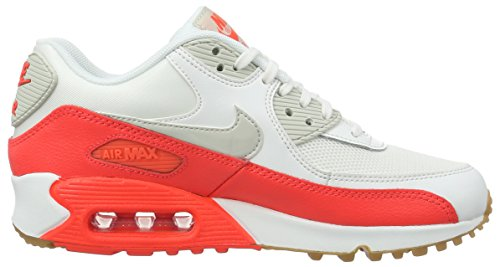 Light Running bright 90 White Nike Scarpe Wmns Max Criimson Donna Bianco s da Brown Air Essential Summit 07B67qP