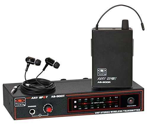 Galaxy Audio AS900K7 In-Ear Monitor System, K7 650.2 MHz