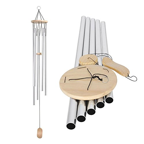 "Yaheetech 58"" Wind Bell Chimes Deep Tone Windchimes Outdoor Ideal Gift, Large"