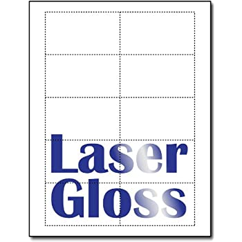 Amazon laser glossy business cards 100 sheets 1000 laser glossy business cards 100 sheets 1000 business cards reheart Image collections