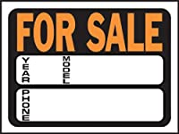 """Hy-Ko 3031 for Sale Auto Sign, 9"""" x 12"""""""