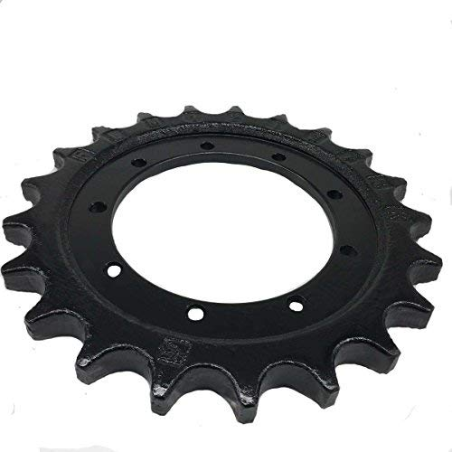Fit for B22.2 Yanmar Sprocket Excavator Mini Track Undercarriage Parts