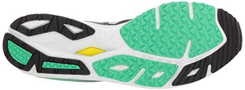 b01f68b207f54 New Balance Men's 1400v6 Running Shoe, Black/NEON Emerald/HI-LITE,