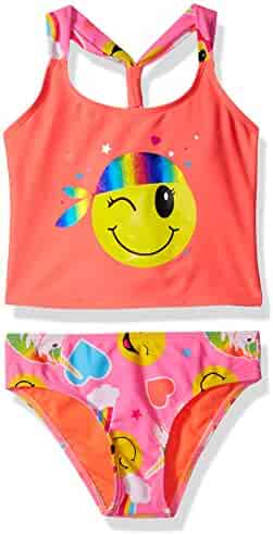 Limited Too Girls' Emoji Tankini