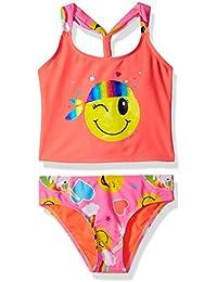 Girls' Emoji Tankini