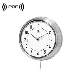 7. 1080P P2P WiFi Wall Clock Hidden Spy Camera