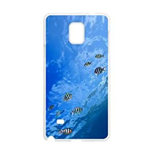Samsung Galaxy Note 4 Cell Phone Case White Underwater Tropical Fish LV7053058