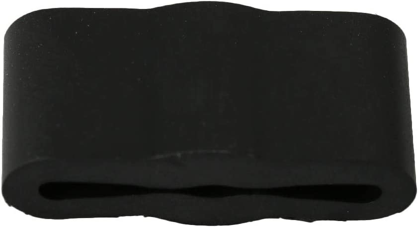 BQLZR Black Rubber Dishwasher Friction Pad 8268961 Replacement for Whirlpool WP8268961