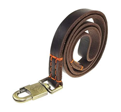 teck Genuine Leather Leash Leashes