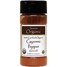 Swanson 100% Certified Organic Ground Cayenne Pepper 1.5 oz (42.5 g) Pwdr