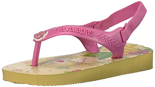 Havaianas Baby Disney Princess Sandal Pollen Yellow, 20 BR (6 M US Toddler) ()