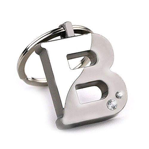 New Arrival Initial Letter B Key Ring with Pouch Bag Z76-M0716 (Initial Letter Ring)
