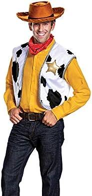 Disguise Men's Woody Deluxe Adult Costume