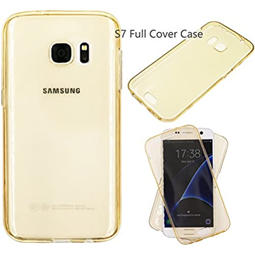 S7 Case , ALXCD Full Body Coverage Two Sides 360 Degree Protection Anti-Scratch 2 in 1 Ultra Thin Soft Clear TPU Sales