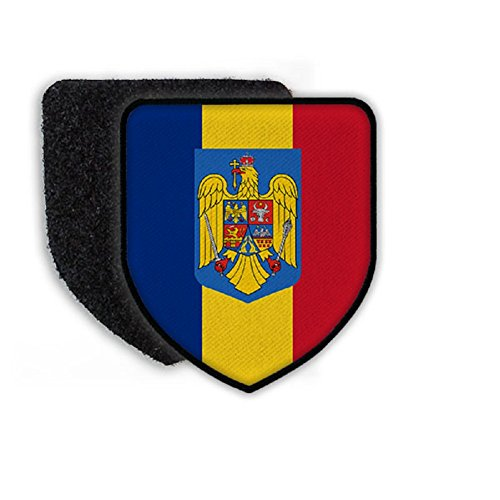 - Flag of Romania country national coat of arms - Patch/Patches