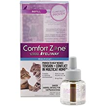 Comfort Zone Multicat Diffuser Refill, 1 Pack, For Cat Calming