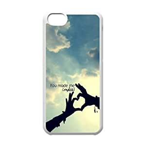 iPhone 5c Cell Phone Case White You Make Me Complete S6E4LV