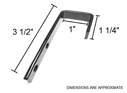 Bunk Bed Ladder Hooks 1 2 Quot Width X 3 1 2 Quot Length 1
