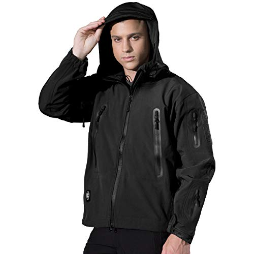 FREE SOLDIER Men s Tactical Jacket Windp...