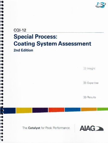 Special Process: Coating System Assessment (Special Process: Coating System Assessment)