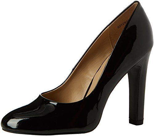 New Look WoMen Tense Closed-Toe Heels Black (Black)