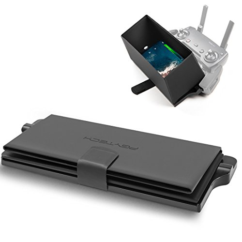 PGYTECH Monitor Hood - Full-Screen Cell Phone Lens Hood Sunshade for DJI Mavic 2 Pro/Mavic 2 Zoom/Mavic Air/Mavic Pro/Spark