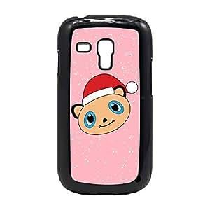 Case Fun Case Fun Christmas Cute Panda Snap-on Hard Back Case Cover for Samsung GalaxyS3 Mini (I8190)