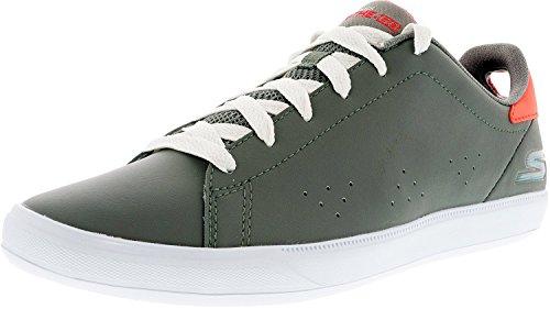 Skechers Women's On The Go Vulc 2 Gray Ankle-High Tennis Shoe - 10M
