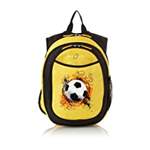 Obersee Kid's All-in-One Pre-School Backpacks with Integrated Cooler, Soccer, 1 Pack