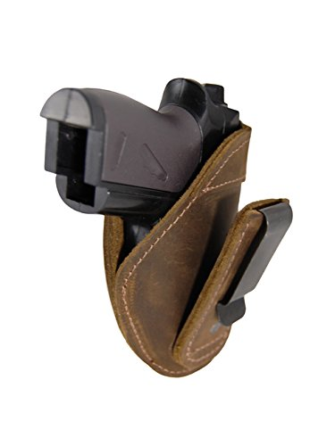 Barsony New Brown Leather Tuckable IWB Holster for, used for sale  Delivered anywhere in USA