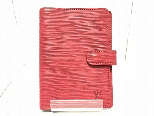 (ルイヴィトン) LOUIS VUITTON 手帳 カスティリアンレッド CA0090 【中古】 B07DNY77HS  -
