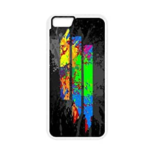 Skrillex iPhone 6 Plus 5.5 Inch Cell Phone Case White MSY243847AEW
