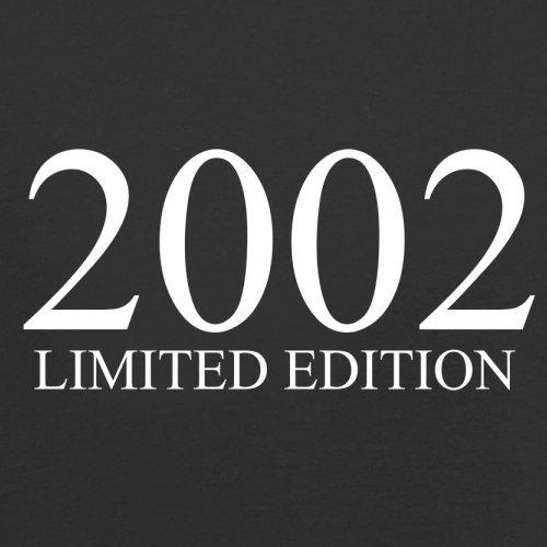 2002 Limierte Auflage / Limited Edition - 15. Geburtstag - Damen T-Shirt - Schwarz - S
