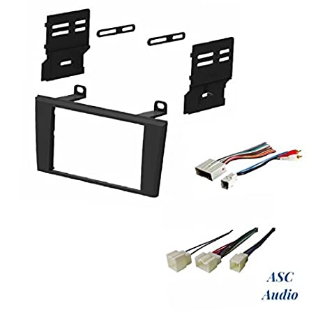 413CtSzeW2L._SX466_ amazon com asc car stereo dash install kit and wire harness for
