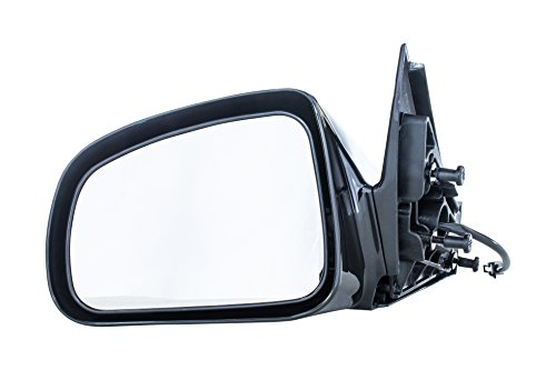 Driver Side Mirror for Pontiac Grand Prix (2004 2005 2006 2007 2008) Black Power Adjusting Non-Heated Non-Folding Outside Rear View Replacement Left Door Mirror