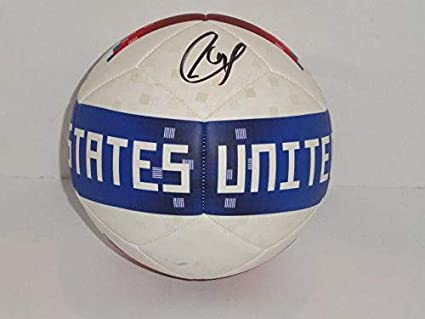 5e9c61c9fbc Image Unavailable. Image not available for. Color  Christian Pulisic Signed  Adidas Team Usa Soccer Ball ...
