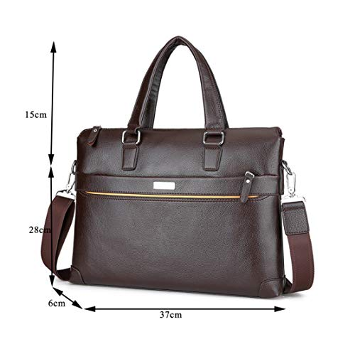 Mature Porte Sac À Vintage Fashion Skitor Sacoche Grand Bags Document Bandoulière En Hommes Affaire Marron Shoulder Tablette Fonctionnel Cuir xgxwOq0