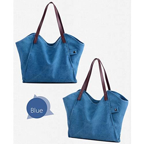 a Blu Tracolla Tracolla a a CHENGYI per Borsa Tracolla Donna 7qwCT