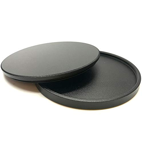 Cap Stack - Balaweis 46mm Metal Lens Filter Cap Protective Cover Case for Canon Nikon Sony DSLR Camera