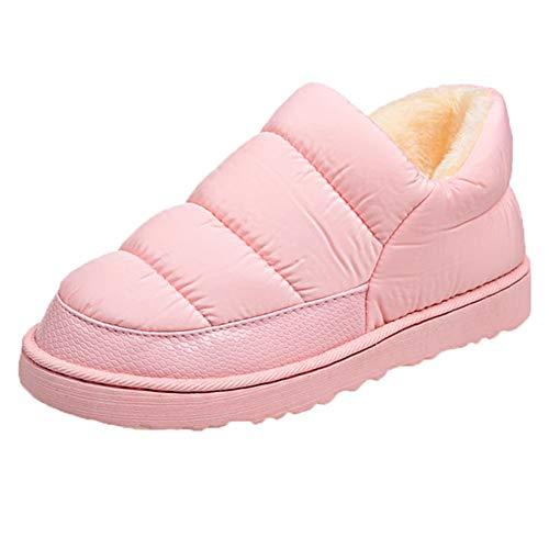 c6d08e89de4 UOKNICE Women Leisure Snow Boots Bread Flat Shoe Inner Wool Winter  Waterproof Keep Warm Bare Boots