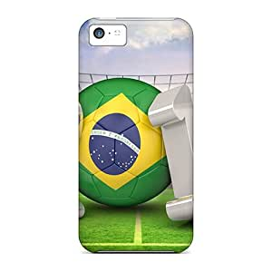 New Style 88caseme World Cup Soccer 2014 Premium Covers Cases For Iphone 5c