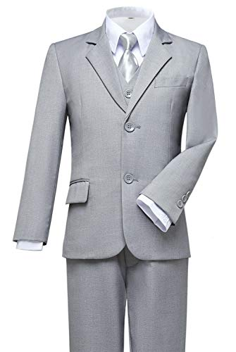 Visaccy Suits for Boys,Slim Fit Boys Suit Outfit
