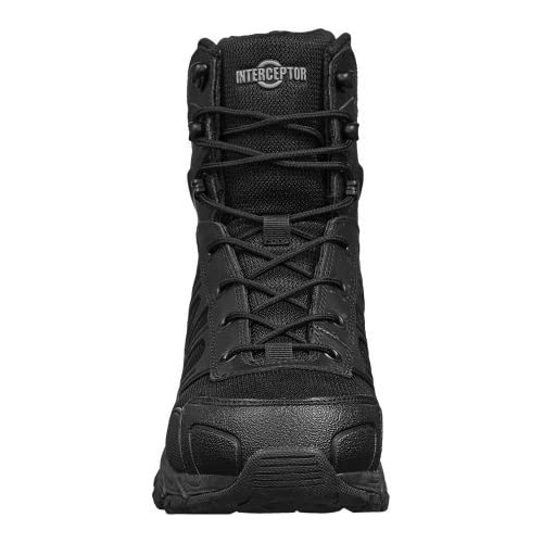 8b5cedf3300 Interceptor Patrol Tactical Footwear Men's Work Boots, Black hot ...
