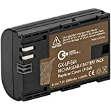 Green Extreme LP-E6N Rechargeable Lithium-Ion Battery Pack (7.2V, 2000mAh) - Replacement For Canon LP-E6, LP-E6N Battery for Canon C700, XC15, EOS 60D, 70D, 80D, 5D Mark II III and IV, 5DS