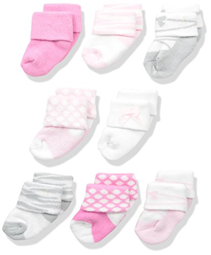 Luvable Friends Unisex Newborn Socks